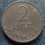 2 эре 1964   Дания    ($2.1.3) ~, фото №3