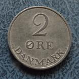 2 эре 1958   Дания    ($2.1.6) ~, фото №2