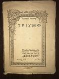 1909 Триумф Поэма К. Тетмаер