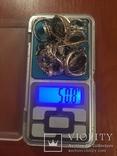 Лот серебряных изделий 925 и 875 проба, фото №13