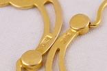 Золотые серьги 583, фото №7