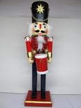 Щелкунчик с барабаном, 30 см., фото №2