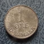 1  эре 1957   Дания  цинк  ($2.1.15) ~, фото №3