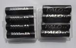Аккумуляторы PALO тип AA, Ni-Mh 3000mAh (8 шт.)