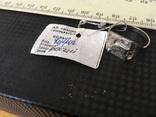 Кольцо Козерог - покрытие родий, фото №2