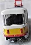 Трамвай Татра 1:87 НО для макета Ж/Д, инерционный, фото №11