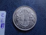 50 центов   1938  Канада  серебро   (2.6.8)~, фото №4