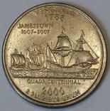 США ¼ долара, 2000 Квотер штату Вірджинія