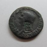 Римська монета з надчеканом Тіри, 27мм, 11гр