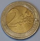 Німеччина 2 євро, 2012 10 років готівковому євро фото 2