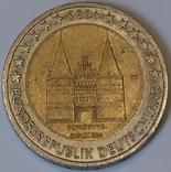 Німеччина 2 євро, 2006 Голштинські ворота у Любеку, Шлезвіг-Гольштейн