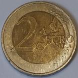 Німеччина 2 євро, 2008 Церква св. Михайла, Гамбург фото 2