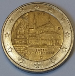 Німеччина 2 євро, 2013 Монастир Маульбронн, Баден-Вюртемберг