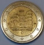 Німеччина 2 євро, 2017 Porta Nigra, Rhineland-Palatinate