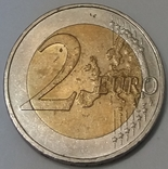Німеччина 2 євро, 2011 Кельнський собор, Північний Рейн - Вестфалія фото 2
