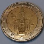Німеччина 2 євро, 2015 Церква Св. Павла у Франкфурті-на-Майні, Гессен