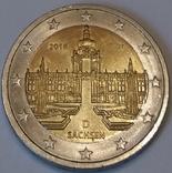 Німеччина 2 євро, 2016 Цвінґер, Саксонія