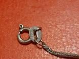 Серебряная цепочка порваная 925 проба, фото №4