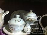 Немецкий фарфор - Столовый,Чайный,Кофейный сервизы на 6 персон, фото №9