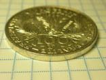 100 франков 1984 Франция, серебро. Памятная. photo 7
