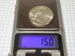 100 франков 1984 Франция, серебро. Памятная. photo 9