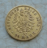 20 марок Пруссия 1878 photo 2