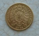 20 марок Пруссия 1873 photo 2