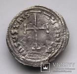 Імператор Лев IV Хозар з сином Костянтином VI, 775-780 р., срібний міліарисій, фото №2