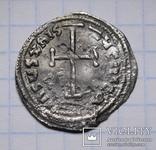Імператор Лев IV Хозар з сином Костянтином VI, 775-780 р., срібний міліарисій, фото №4