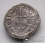 Імператор Лев IV Хозар з сином Костянтином VI, 775-780 р., срібний міліарисій, фото №6