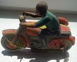 СССР Мотоциклист Мотоцикл с коляской