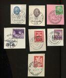 3-й Рейх Германия, 7 разных спец гашений, фото №2