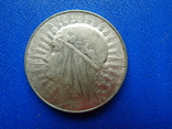 5 злотых. 1933 год. Ядвига (лапка) №3, фото №2