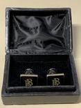 Запонки в родной коробке бренда Brubaker  из США, фото №3