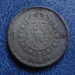 1 крона  1947  Швеция  серебро  (2.7.14)~, фото №2