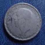 1 крона  1943  Швеция  серебро  (2.7.16)~, фото №2