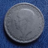 1 крона  1943  Швеция  серебро  (2.7.16)~, фото №3