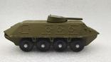 Бронетраспортер Амфибия военная техника игрушка СССР, фото №2