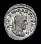 Рим антониан Филипп Араб 244 г. Unc штемпельный блеск photo 3