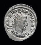 Рим антониан Филипп Араб 244 г. Unc штемпельный блеск photo 4