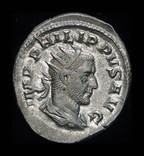 Рим антониан Филипп Араб 244 г. Unc штемпельный блеск
