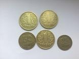 Украина. Монеты 1995 и 1996 года+альбом с футляром photo 2
