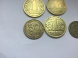 Украина. Монеты 1995 и 1996 года+альбом с футляром photo 3