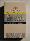 Сигареты Monte Carlo SUPER LIGHTS