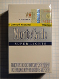 Сигареты Monte Carlo SUPER LIGHTS фото 2