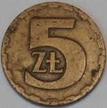Польща 5 злотих, 1976