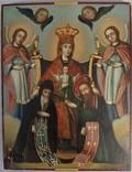Печерская икона Божией Матери с предстоящими Антонием и Феодосием, photo number 2