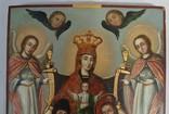 Печерская икона Божией Матери с предстоящими Антонием и Феодосием, photo number 4