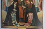 Печерская икона Божией Матери с предстоящими Антонием и Феодосием, photo number 5