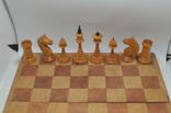 Шахматы старые дерево photo 3